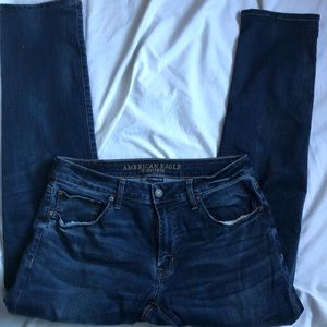 American Eagle 34x34 slim straight jeans